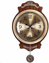 AIOJY European Retro Wall Clock, Living Room Home