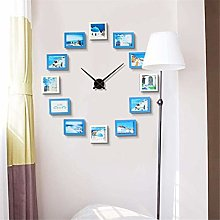 AIOJY Modern Wall Clock, Large Decorative Wall