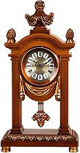 AIOJY Pendulum Clock Fashion Antique Desk Watch