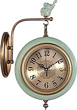 AIOJY Vintage Table Clock Wall Clock European