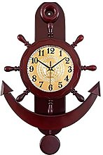 AIOJY Wall Clock, Living Room Home Mediterranean