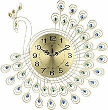 AIOJY Wall Clock Metal Watch For Home Living Room