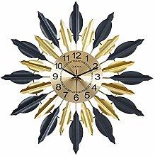 AIOJY Wall Clock, Modern Metal Wall Clock, Wall