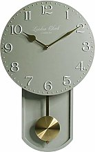 AIOJY Wall Clock Personalized Non-Ticking Battery