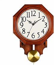 AIOJY Wall Clock Polygon Wall Clock Chinese Clock