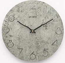 AIOJY Wall Clock,Retro Vintage Silent Wall