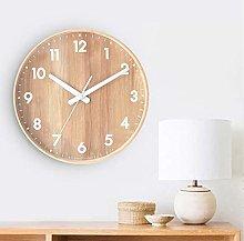 AIOJY Wall Clock Wooden Wall Wall Clock Modern