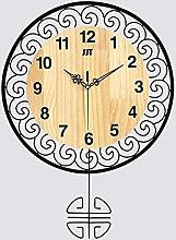 AIOJY Wall Clocks Modern Simple Wooden Wall