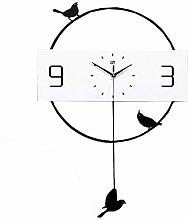 AIOJY Wall Clocks Wall Clock Modern Metal Wall
