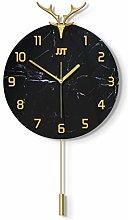 AIOJY Wall Clocks Wall Pendulum Watch Modern Rough