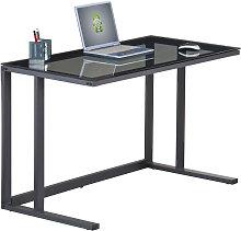 Air Computer Desk Home Office Workstation Black