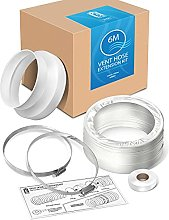 AIR CON 6M VENT HOSE EXTENSION KIT DUCT PIPE KIT