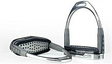 Air Cushioned Stirrup Irons (4.75 inches) (Silver)