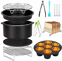 Air Fryer Accessories 8 Inch 10 Pcs for Gowise