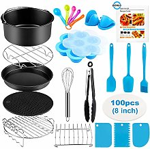 Air Fryer Accessories, 8 Inch 20 Pcs for COSORI