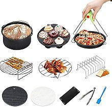 Air Fryer Accessories Set, 8 Inches, Fit All of