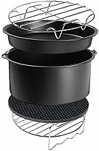Air Fryer Accessories Set with Cake Tin Baking