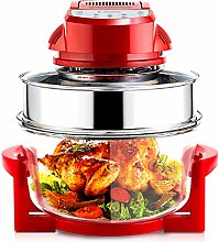 Air Fryer with Explosion-Proof Glass, 220V 17L