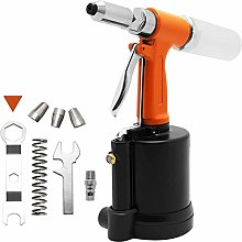 Air Hydraulic Double Power Pop Rivet Gun, Industry