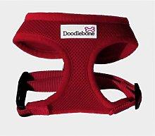 Air Mesh Dog Harness (XS) (Red) - Doodlebone