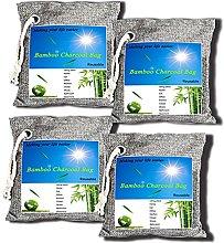 Air purifying Bag(200g*4), Nature Bamboo