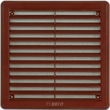 Air Vent Grille Cover 150 x 150mm (6x6inch) Brown