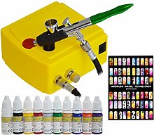 Airbrush Compressor Set Complete Set Mini