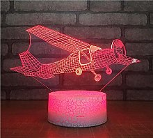 Aircraft Custom Gifts 3D Lights Colorful