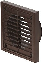 Airflow 52641109 Fixed Grill, Brown, 150 mm