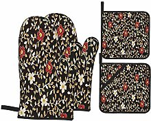 Airmark Oven Mitts and Pot Holders 4pcs