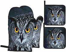 Airmark Oven Mitts and Pot Holders 4pcs Set,Eagle