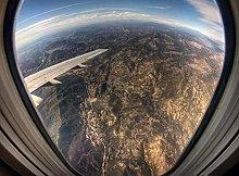 Airplane Window View-30x40cm,DIY 5D Diamond