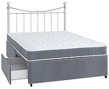Airsprung Berlin Divan Bed With Storage Options