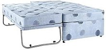 Airsprung Single Divan Bed With High Level Guest