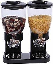 Airtight Dry Food Dispenser Dual Control Kitchen