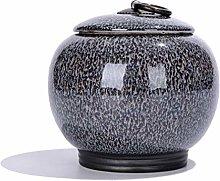 Airtight Lid Tea Canister for Loose Tea Spice