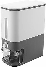 Airtight Rice Dispenser with Measuring Cup, Rice