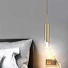 AIRUI Long Tube LED Pendant Light, Nordic Modern