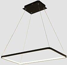 AIRUI Rectangle Pendant Light LED Linear Ceiling