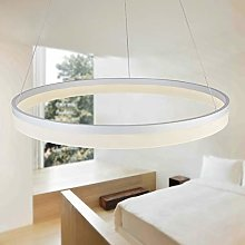 AIRUI Single Circle LED Pendant Light Modern Metal