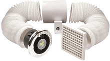 Airvent Timer Controlled LED Shower Extractor Fan
