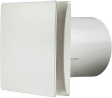 Airvent Timer Controlled Tile Extractor Fan 100mm