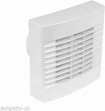 Airvent White Kitchen Extractor Fan with Pullcord
