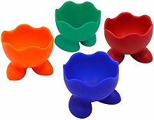 AISI Silicone Childrens Egg Cups Set of 4 Egg