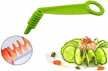 Aisoway Manual Spiral Screw Slicer Plastic Cutter