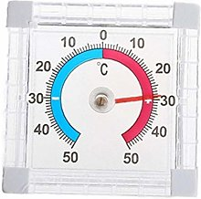 Aisoway Self Adhesive Thermometer Wall Greenhouse