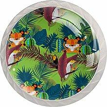 AITAI 虎 Leaf Forest Round Cabinet Knob 4