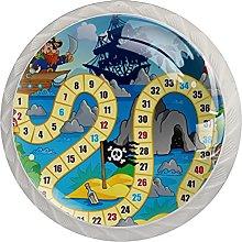 AITAI Board Desk Game Pirate Lighthouse Round