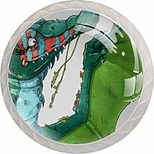 AITAI Dinosaur Multi 羽 Round Cabinet Knob 4