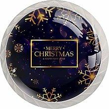 AITAI Golden Christmas Snowflakes Purple